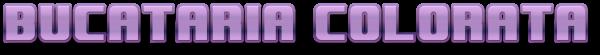 Bucataria Colorata